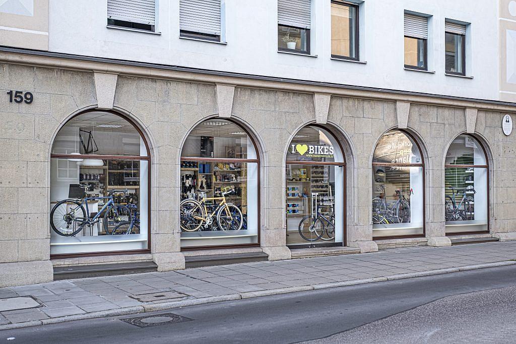 I love bikes Außenansicht
