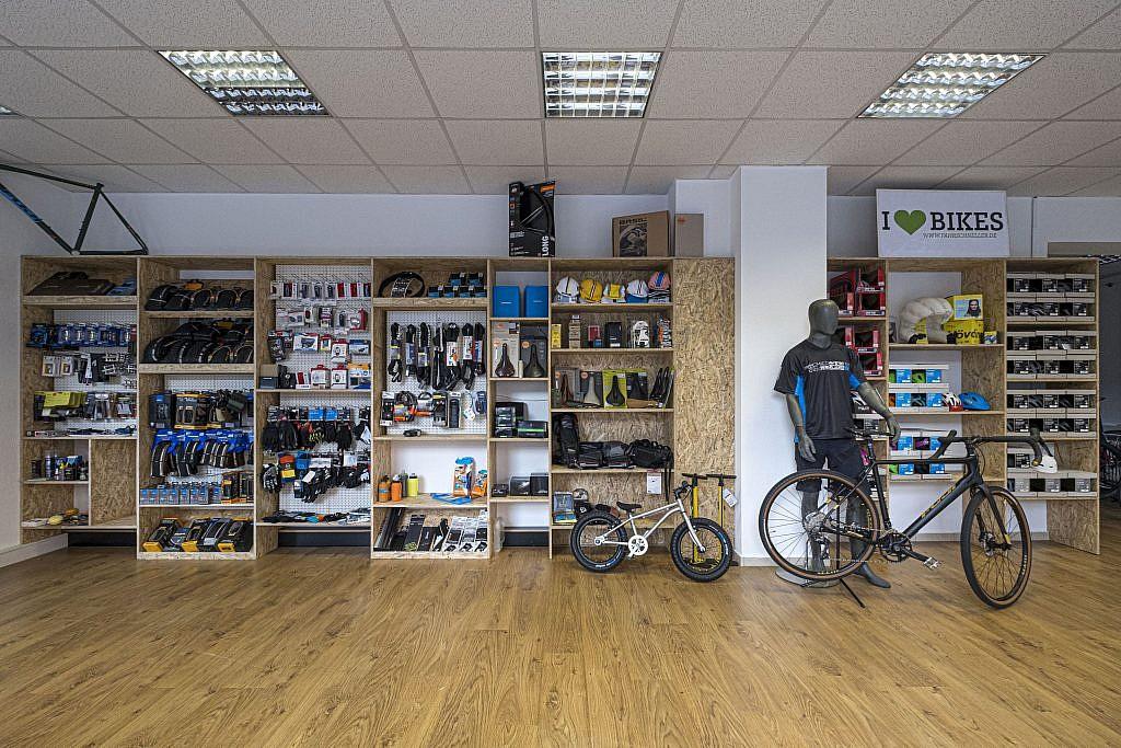 I love bikes Laden Innen